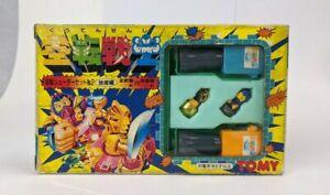 1987 Tomy Japan Spinja Warrior Unused Spinjas Battle Beasts Set Pack