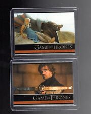 Game of Thrones season 4   P1 and P2 promo cards