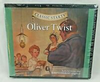 NEW Classic Starts Oliver Twist Audio CD By Charles Dickens Kid Stories Fables