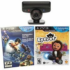 Sony PlayStation 3 Move Eye Camera Eyepet Game PS3 Very Good 8Z
