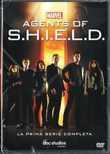 AGENTS OF S.H.I.E.L.D. SHIELD STAGIONE 1 - COFANETTO 6 DVD NUOVO!