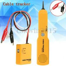 Telephone Network Cable Wire Line Tone Tracker  Tester Sender Receiver Kit + Box