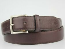 Lacoste Brown Cow Leather Belt Size 90cm S