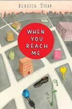 When You Reach Me by Rebecca Stead (2009, Paperback) Book for 8-12 year olds