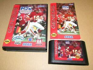 NFL Football '94 Starring Joe Montana for Sega Genesis Complete Fast Shipping!