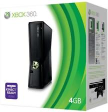 Microsoft Xbox 360 S 4GB Black Console FAST FREE SHIPPING - Tested - Working