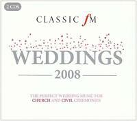 CLASSIC FM Weddings 2008 (2008) 28-track 2-CD set NEW/SEALED