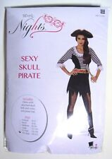 Woman's Skull Pirate Costume 2X Large-NEW