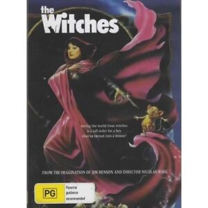 The Witches - Angelica Huston  New and Sealed  DVD