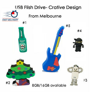 Creative PVC Soft USB Drive 2.0 Pendrive Disk 8GB/16GB File Saver