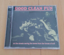 CD GOOD CLEAN FLUN ON THE STREETS REFLECTIONS RECORDS 2000 PUNK ROCK HARDCORE