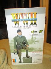 Dragon german panzer horst lerner 12'' wwII 1/6 LIBYA 1941 action Figure RARE