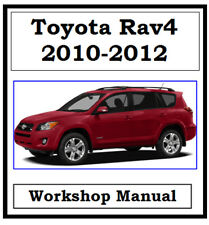 TOYOTA RAV4 RAV 4 2010, 2011, 2012 WORKSHOP MANUAL DIGITAL DOWNLOAD