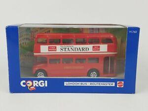 Corgi London Bus Routemaster Mattel 1993