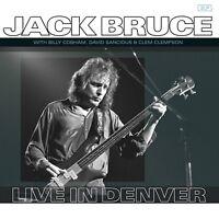 JACK BRUCE - LIVE IN DENVER MIT B. COBHAM, D.SANCIOUS  2 VINYL LP NEU