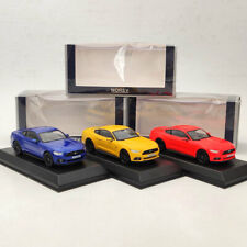 1/43 Norev Ford Mustang GT 2014/2015 Diecast Limited Edition Blue/Red/Yellow