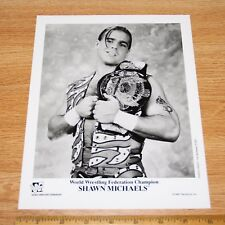 Shawn Michaels official original 8x10 wcw wwe wwf promo photo 1996 p-353