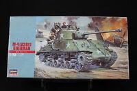 XO091 HASEGAWA 1/72 maquette tank char 31115 MT15 500 US Army M-4 (A3E8) Sherman