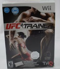 UFC Personal Trainer: The Ultimate Fitness System Wii New In Box Factory Sealed