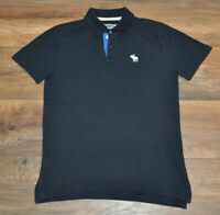 Abercrombie Boys Navy Polo Shirt Casual Top Collar Kids 13-14 Years