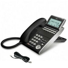 NEC DT300 DTL-12D-1P 12-Key Telephone in Black