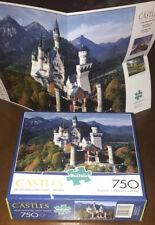 Buffalo Majestic Castles Neuschwanstein Castle Bavaria 750 Piece Puzzle FREE SH