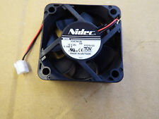 2 x Digital Stream-NIDEC H35758-55 12 V 50 mm x 50 mm Fan