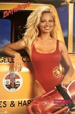 Baywatch Young Pamela Anderson Rare Original 1995 Vintage Poster 23 x 35