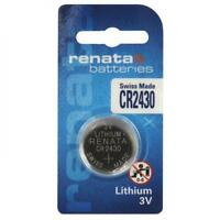 CR2430 Renata 3V Lithium Coin Cell Button Batteries AU