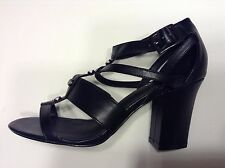 M&S Limited Edition Insolina Strappy Block Heels - BLACK - UK 6 / EU 39.5 - NEW