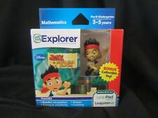LEAP FROG  Explorer Learning Game - JAKE AND THE NEVERLAND PIRATES -  BRAND NEW