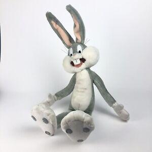 "Vintage BUGS BUNNY Plush Toy 24"" Large Looney Tunes Stuffed Animal Applause 1994"