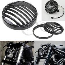 CNC Scheinwerfer Headlight Grill Cover Für Harley Davidson Sportster XL 883 1200