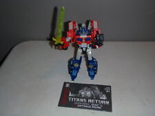 Transformers Titans Return OPTIMUS PRIME DIAC Complete Voyager