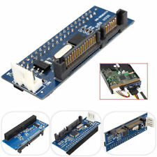"PATA 40-Pin IDE Female to SATA Serial 7+15Pin 22-Pin Male Card 3.5"" HDD ASS"