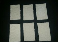 Cut Stone Retaining Wall Set #2, N Scale, 6 Piece Set