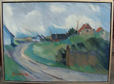Arnold William Pedersen 1912-1986, Weg durch das Dorf, um 1960/70