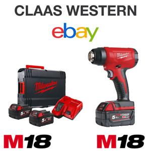 Milwaukee M18BHG-502C 18v 2x5.0Ah Li-ion Compact Heat Gun Kit (4933459773)