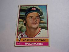 Jackie Brown Card #301 Indians Pitcher