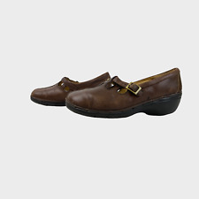 CLARKS UNSTRUCTURED Ladies Womens Shoes Size UK 5.5D EU 39 Brown Comfort