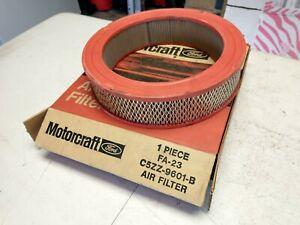 1965-1968 Mustang,Thunderbird,Fairlane,Galaxie,Cougar V8 NOS air filter element