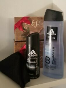 Merry CHRISTMAS All Occasion Men Adidas Marine Extract Blue Fresh Clean Gift Set