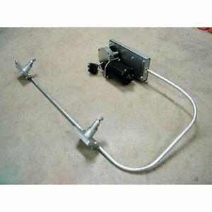 1952-79 MG / Austin Wiper Kit w Wiring Harness 12-VOLT parts cowl vent custom