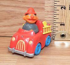 "Vintage Playskool 1981 Sesame Street ""Ernie in a Firetruck"" Toy Only **READ**"