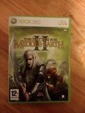 The Lord of the Rings *Good* The Battle for Middle-Earth II Game 2 Xbox 360
