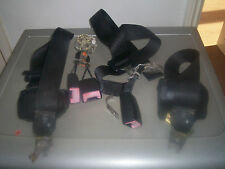 FORD MONDEO MK1 1994 REAR SEAT BELTS AND REAR SEAT BELT ANCHORS