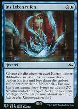 Al llamar a la vida/write into being | nm | Ugin 's fate promos | ger | Magic mtg