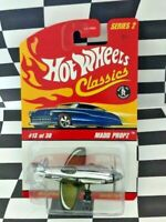 Hot Wheels Classics Series 2 #13 Madd Propz Airplane Chrome Antifreeze 5sp