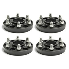 4X 2004-2019 Ford F150 Raptor 30mm Hub Centric Wheel Spacers 6x135 Black Forged