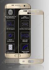 Protezione display Samsung Galaxy S7 Bordo Oro Pellicola protettivaVetro H9
